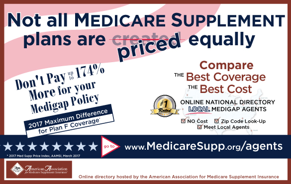 Medicare supplement agents promotional ad