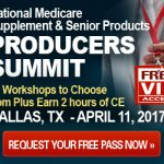 Medicare supplement Sales Summit, April 11, 2017, Dallas