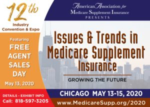 Medicare Supplement insurance exhibit hall sell out
