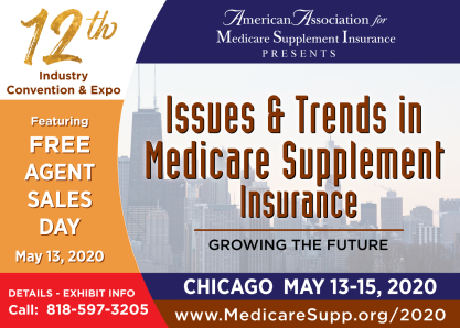 Medicare insurance conference exhibit selling out