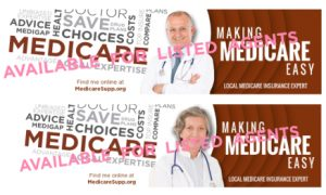 New banners for Medicare insurance agents sales tools