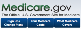 medicare.gov website