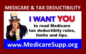Medicare supplement insurance tax deductions