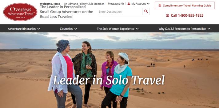 solo trips for women discount overseas adventure travel