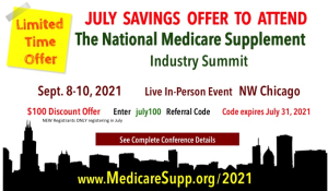 Medicare insurance conference discount code